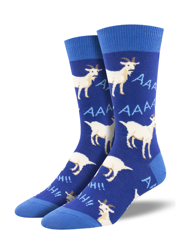 Socksmith: Screaming Goats - Blue