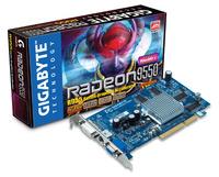 Gigabyte Graphics Card Radeon R9550 128M AGP image