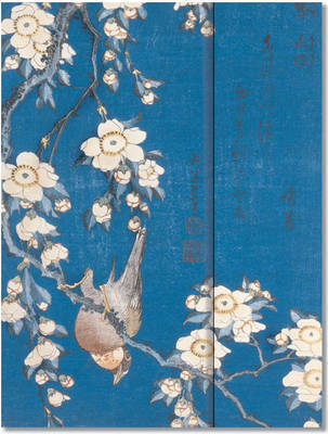 Bullfinch and Cherry Tree Journal (Large, Foldover)