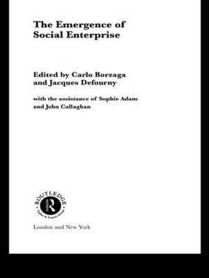 The Emergence of Social Enterprise