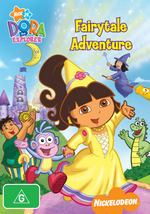 Dora The Explorer - Fairytale Adventure on DVD