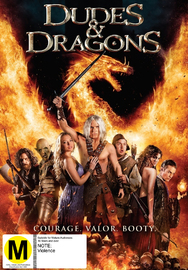 Dudes and Dragons on DVD
