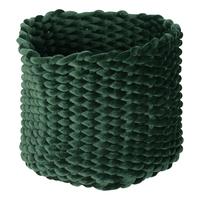 Moxy Velvet Pot Holder (Large) - Emerald image