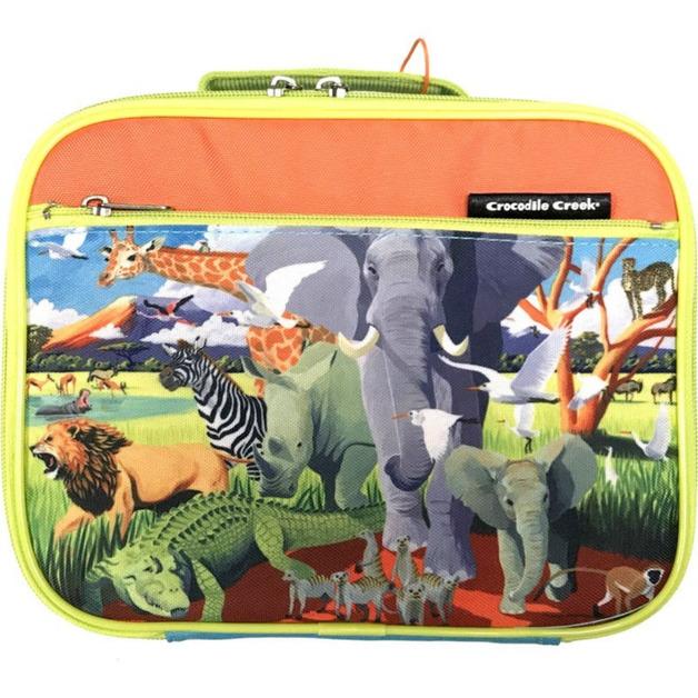 Crocodile Creek Classic Lunchbox - Safari