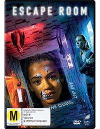 Escape Room (2018) on DVD