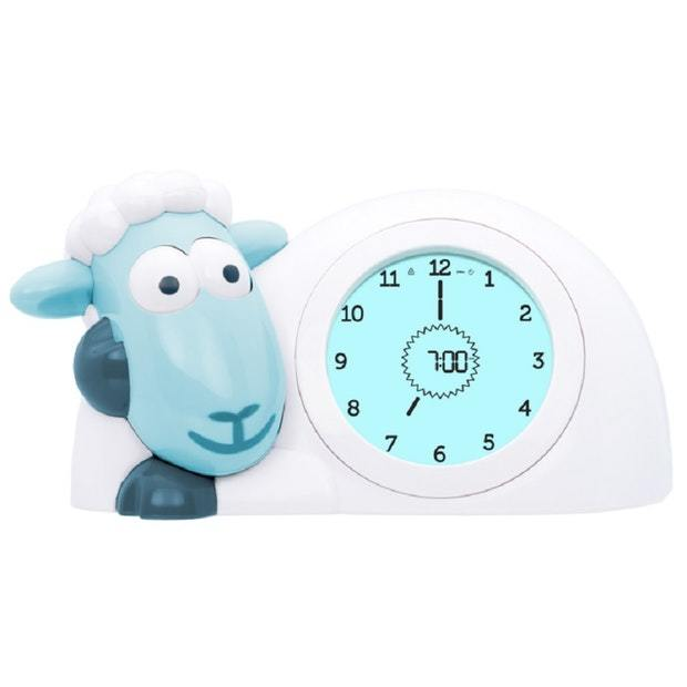 Zazu Sam the Sheep Sleep Trainer Clock - Blue