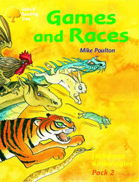 Oxford Reading Tree: Levels 8-11: Jackdaws: Pack 2: Games and Races by Mike Poulton image
