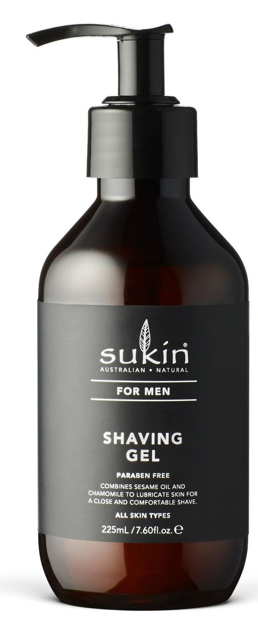Sukin for Men Shaving Gel (225ml) image