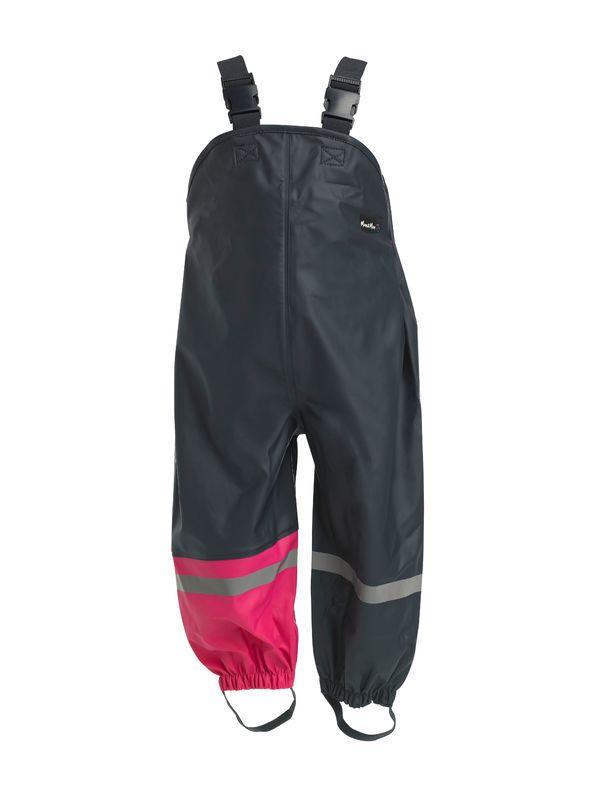 Mum 2 Mum Rain Wear Overalls - Hot Pink (12 months)