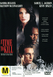 Time To Kill, A on DVD image