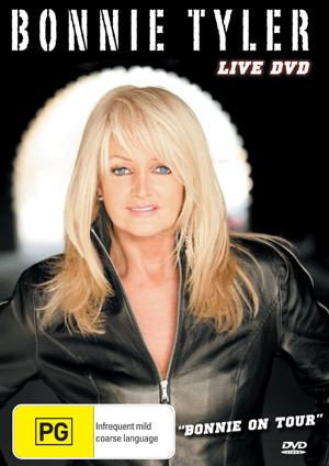 Bonnie Tyler - Live DVD: Bonnie On Tour on DVD