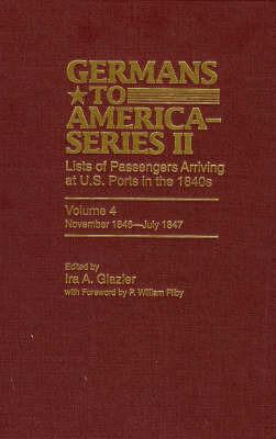 Germans to America (Series II), November 1846-July 1847