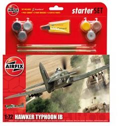 Airfix Hawker Typhoon IB Starter Set 1/72 Model Kit image
