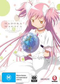 Puella Magi Madoka Magica the Movie: Part 1 Beginnings / Part 2 Eternal (Limited Edition) on Blu-ray
