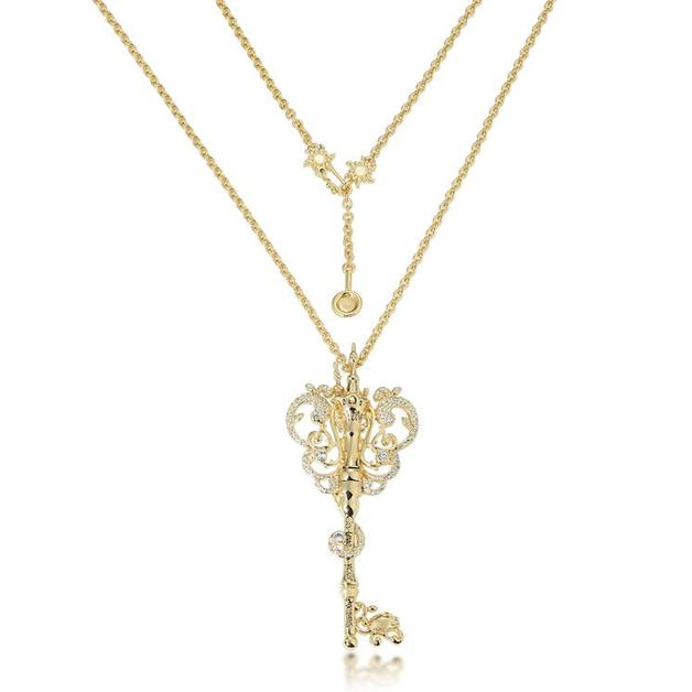 Couture Kingdom: Disney - Princess Rapunzel Necklace (Yellow Gold)