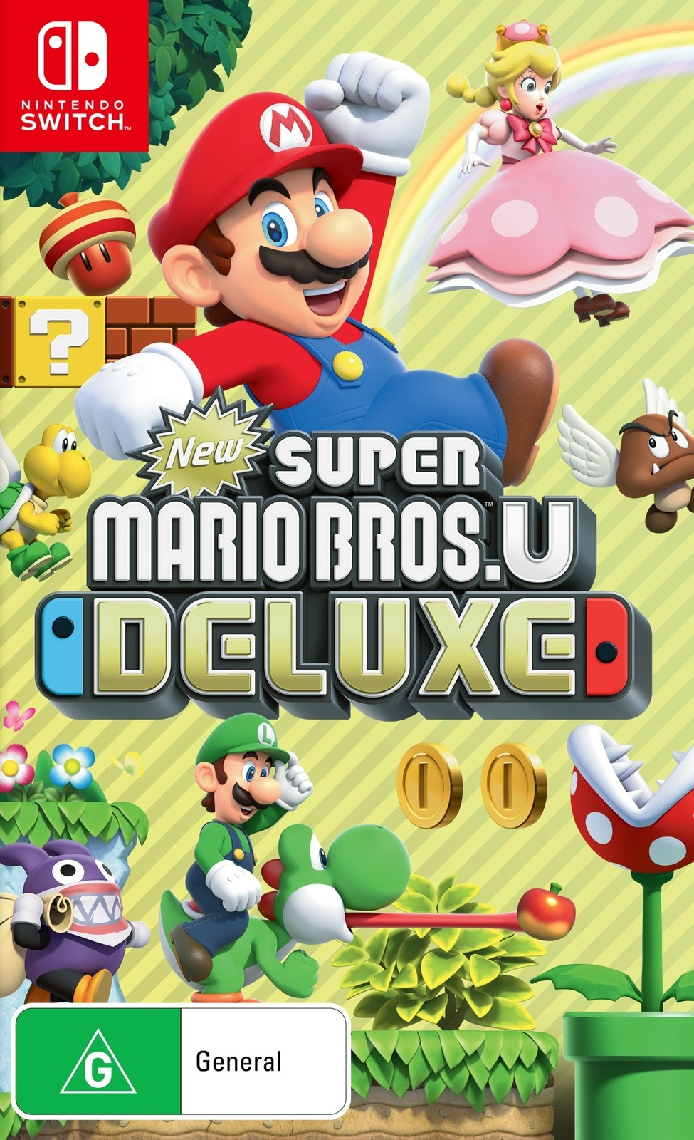 New Super Mario Bros. U Deluxe for Nintendo Switch image