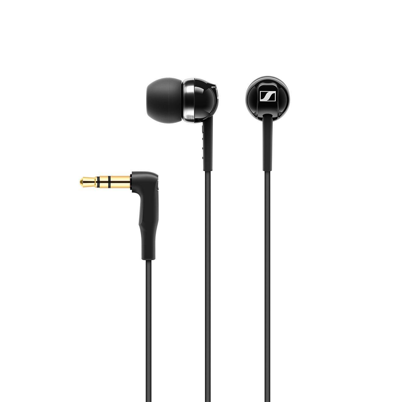 Sennheiser CX 100 Wired In-Ear Heaphones - Black image