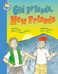 Old Friends, New Friends Story Street Fluent Step 11: Book 4 by Jenny Alexander image