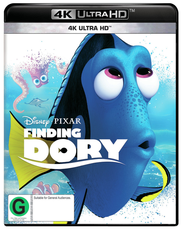 Finding Dory (4K UHD) on UHD Blu-ray