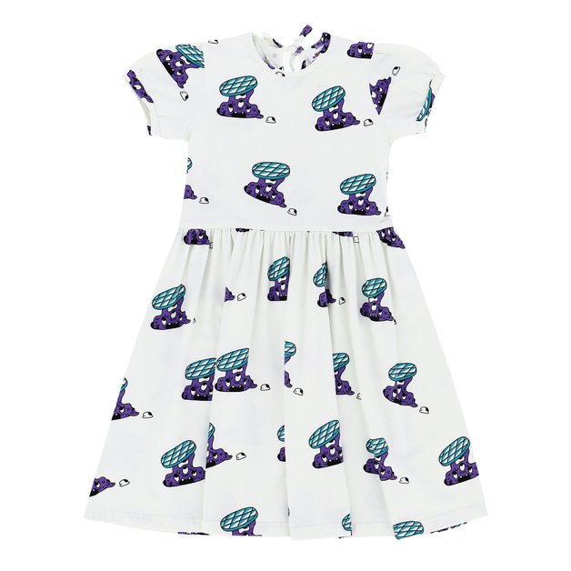 Jelly Alligator: Slime Invaders Dress - 4-5Y