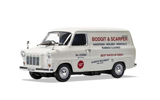 Corgi: 1/43 Transit - Bodgit & Scarper