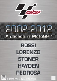 2002-2012 A Decade in MotoGP on DVD