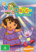 Dora The Explorer - Dance To The Rescue on DVD
