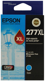 Epson Claria Ink Cartridge 277XL (Light Cyan)