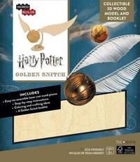 Incredibuilds Golden Snitch by Jody Revenson