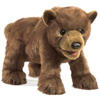 Folkmanis Hand Puppet - Brown Bear Cub
