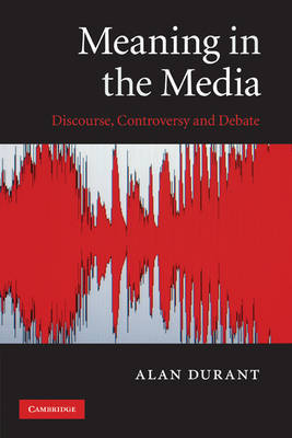 Meaning in the Media by Alan Durant image