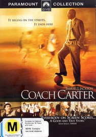 Coach Carter on DVD image
