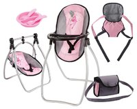Bayer: Vario Doll Accessory Set - Pink/Grey
