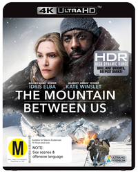 The Mountain Between Us (4K UHD + Blu-ray) on UHD Blu-ray