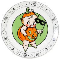 Sourpuss Kewpie Pumpkin Plate