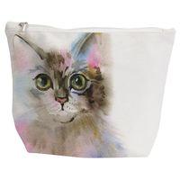 Art Of Cats Travel Bag - Grey Cat (Large)