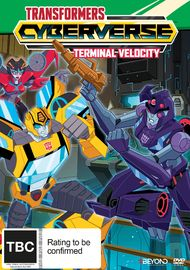 Transformers Cyberverse: Terminal Velocity on DVD