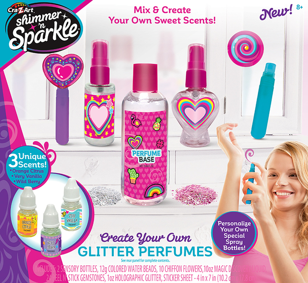 Shimmer & Sparkle - Make Your Own Glitter Perfumes