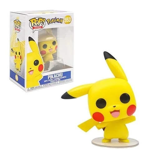 Pokemon - Pikachu (Waving) Pop! Vinyl Figure image