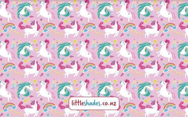 Little Shades: Window Shade - Unicorn