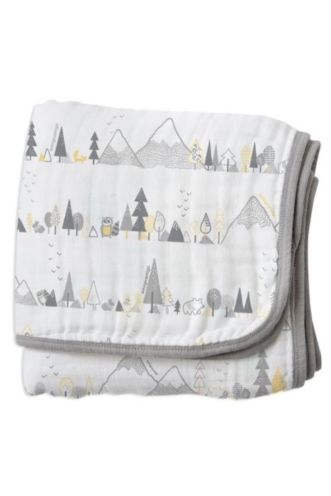 Little Linen: Weego Stroller Blanket - Whistler