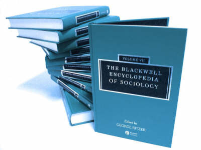 The Blackwell Encyclopedia of Sociology image