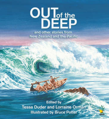 Out of the Deep: and Other Stories from New Zealand and Around the Pacific by Tessa Duder image