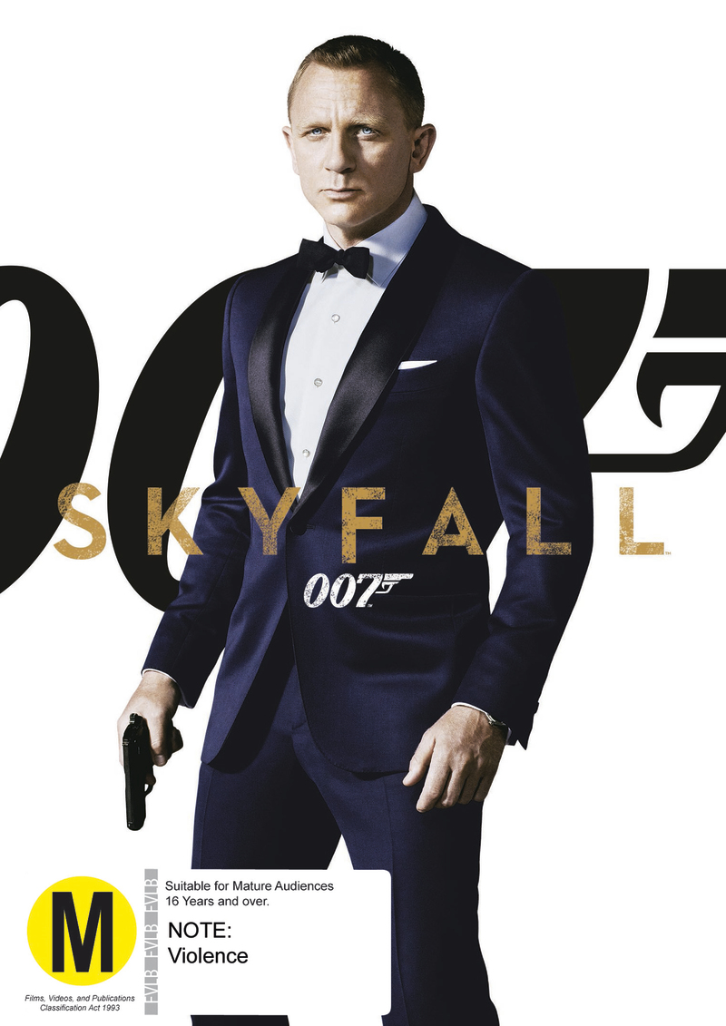 Skyfall on DVD image