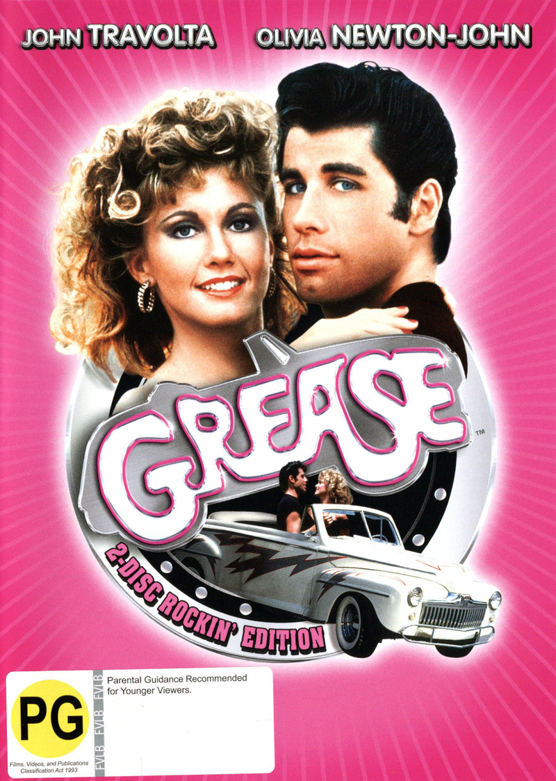 Grease - Rockin' Edition (2 Disc Set) on DVD image