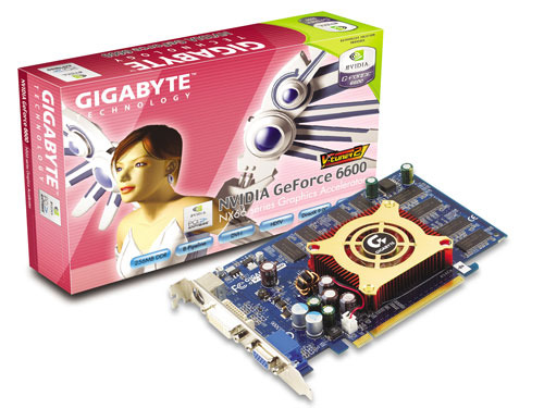 Gigabyte Graphics Card NVIDIA GeForce 6600 256M PCIE