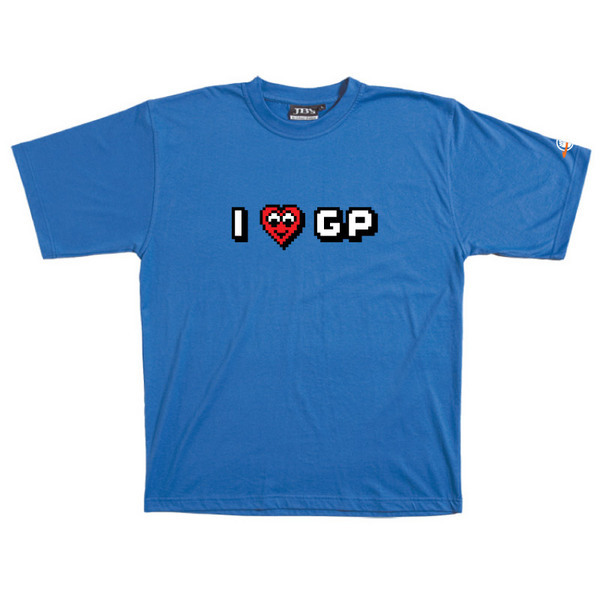 I Heart GP - Tshirt (Blue) for