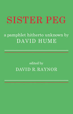 Sister Peg by David R. Raynor