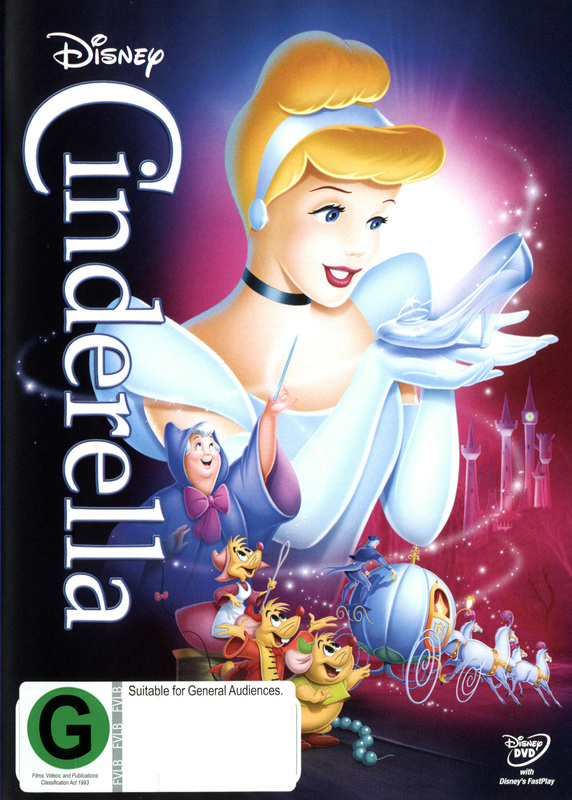 Cinderella (1950) on DVD