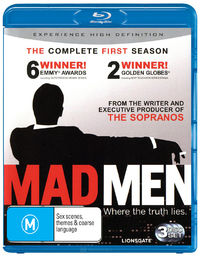 Mad Men - The Complete First Season on Blu-ray